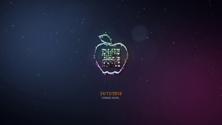 Blue Apple | Logo Reveal (Christmas)