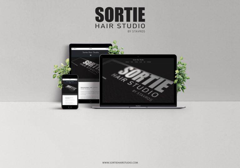 Sortie Hair Studio | Web Development